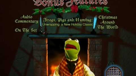 The Muppet Christmas Carol Special Features Menu (2002) Region 1