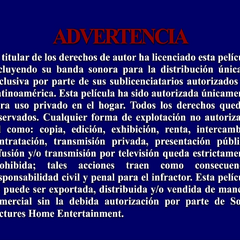 FBI Warning #4 (Spanish)