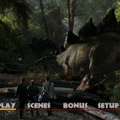 <i>The Lost World: Jurassic Park</i> Main Menu
