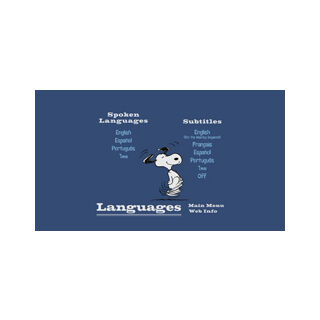Happiness Is A Warm Blanket, Charlie Brown - Languages Screenshot