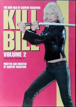 Killbill2 dvd