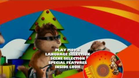Alvin and the Chipmunks DVD Main Menu (Widescreen side, Short)
