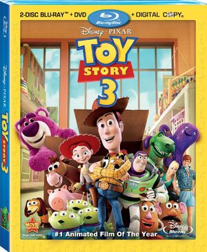 Toy Story 3 2-Disc Blu-ray Combo