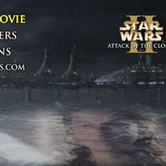 Star Wars: Attack of the Clones - Kamino Main Menu Screenshot
