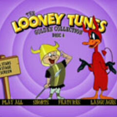 Looney Tunes Golden Collection: Volume Two - Disc 4 Main Menu Screenshot