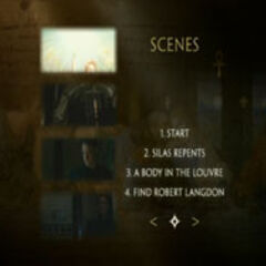 The Da Vinci Code - Scene Selection