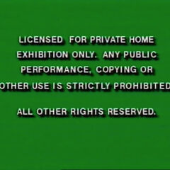 Licensed for Private Home Use