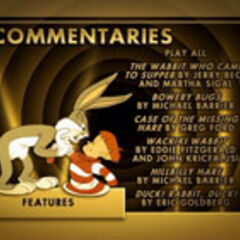 Looney Tunes Golden Collection: Volume Three Disc 1 Commentaries