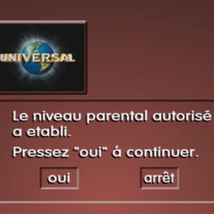 French Parental Level Screen