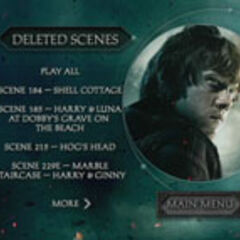 Harry Potter and the Deathly Hallows Part 2 - Deleted Scenes