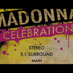 Madonna Celebration: The Video Collection Audio