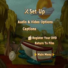 The Muppet Movie - Setup Menu Screenshot