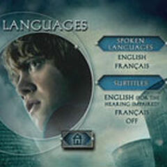 Harry Potter and the Deathly Hallows – Part 1 - Languages