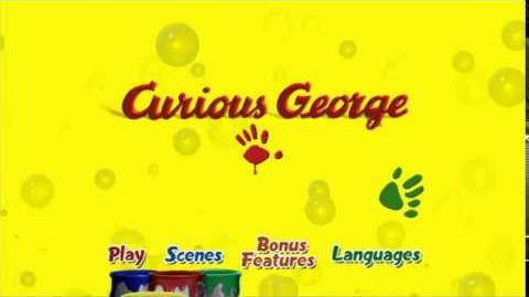 Curious George Main Menu