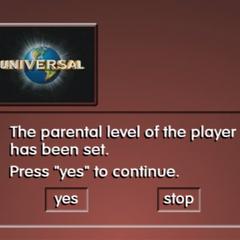 Parental Level Screen