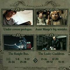 Harry Potter and Prisoner of Azkaban - Scene Selection