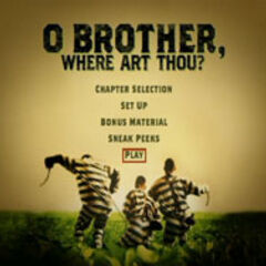 O Brother, Where Art Thou? - Main Menu Screenshot