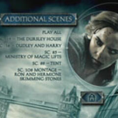 Harry Potter and the Deathly Hallows – Part 1 - Additional Scenes