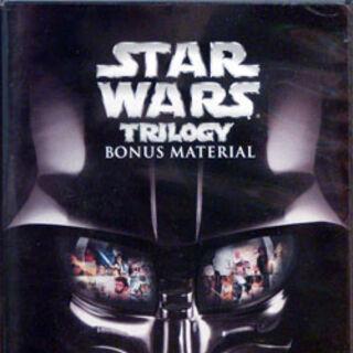 Star Wars Trilogy Bonus Material DVD.