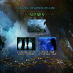 James Cameron's Avatar: Scene Selection
