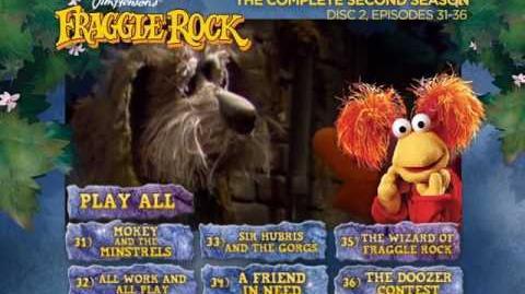 Fraggle Rock - Season 2 Disc 2 Main Menu (2013)