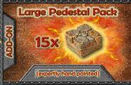 GT5-LP-P Large Pedestal Pack