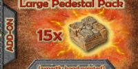 GT5-LP Large Pedestal Pack