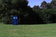 Time rift TARDIS after