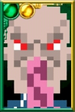 Ood (Green) Pixelated Portrait