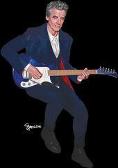 The Twelfth Doctor Comics Guitar