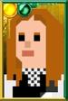 Amy Pond Pixelated Kissogram Portrait