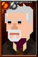 The War Doctor Pixelated Left Portrait