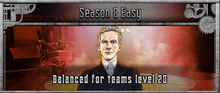 Season 8 Easy