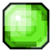 Green Pixelated Gem