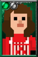 Fan Sarah Jane Smith Pixelated Overalls Portrait