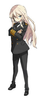 Bismarck and female admiral