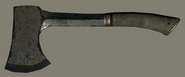 Brown Iron Hatchet