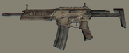 Camo Military Rifle 2