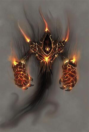 Volcano lord