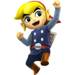 Toon Link Alternate Costume 4 (HWL DLC)