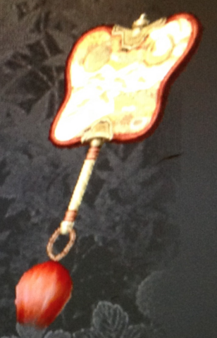 File:Red Lacquered War Fan (Kessen III).png