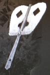 Silver-Leaf War Fan (Kessen III)