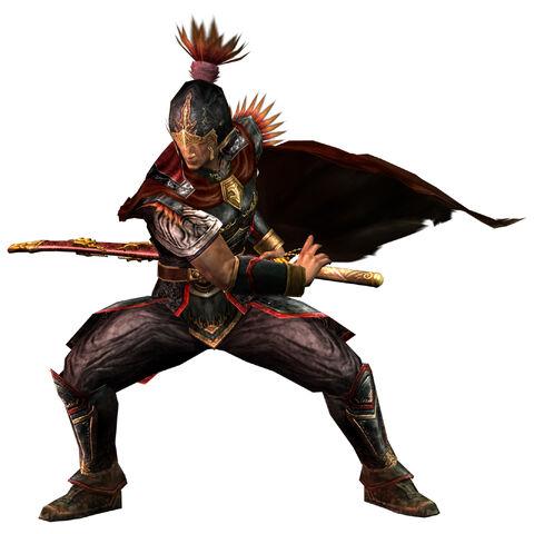File:Zhou Tai - Dynasty Warriors 4.jpg
