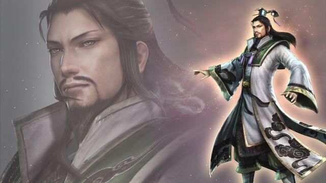 File:Zhuge Liang Wallpaper (WO3 DLC).jpg