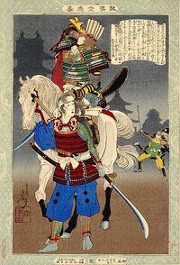 Oyuki Woodblock Image