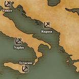 Adriatic Sea - Port Map 1 (UW5)