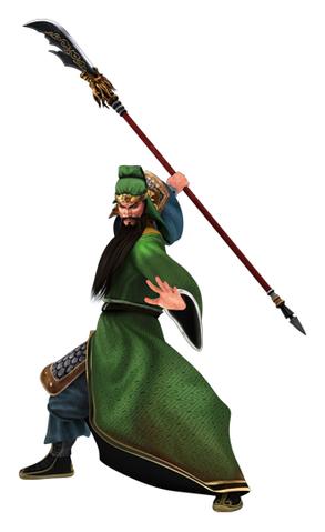 File:Guan Yu Render (CR - ROTK).png