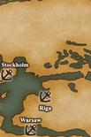 Baltic Sea - Port Map 2 (UW5)
