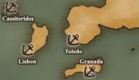 Iberian Peninsula - Port Map 4 (UW5)
