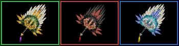 DW Strikeforce - Feather Fan 12